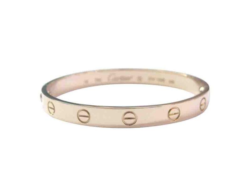 Cartier Rose Gold Love Bracelet Size 16