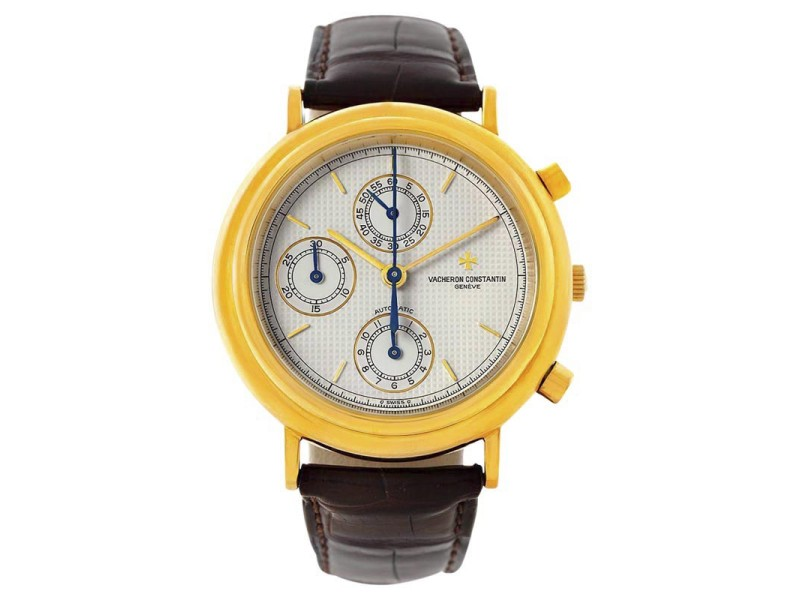 Vacheron Constantin 47001 Chronograph Automatic 18K Yellow Gold Watch