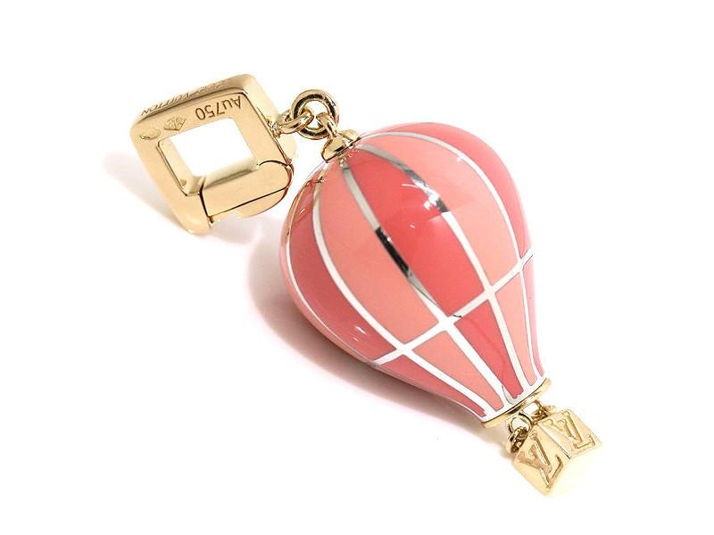 Louis Vuitton 18K Pink,White Gold Hot Air Balloon Charm Pendant