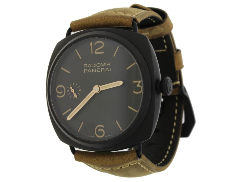 Panerai Radiomir PAM 504 Black Composite Manual 47mm 2014 Watch