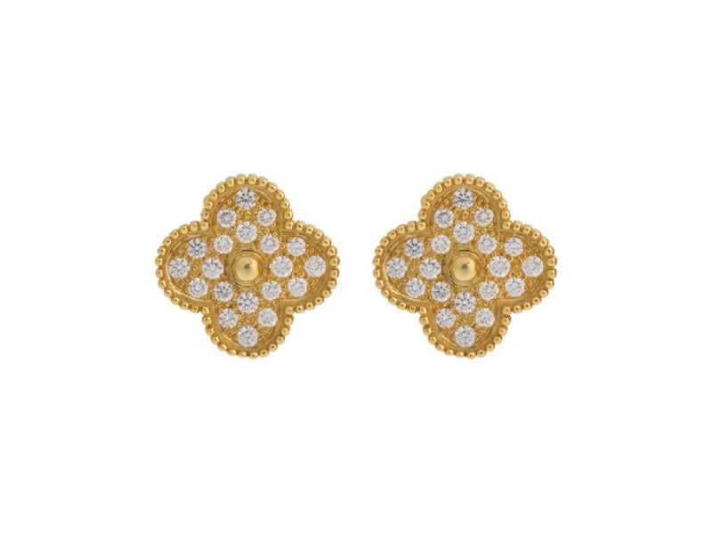 Van Cleef & Arpels Alhambra Earrings