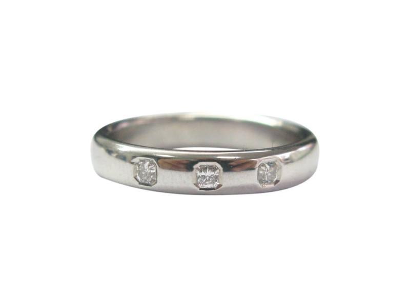 Tiffany & Co. Platinum Lucida Diamond Band Ring