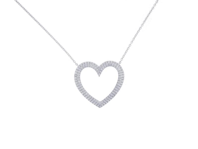 Tiffany co diamond heart pendant necklace tiffany co buy tiffany co diamond heart pendant necklace aloadofball Image collections