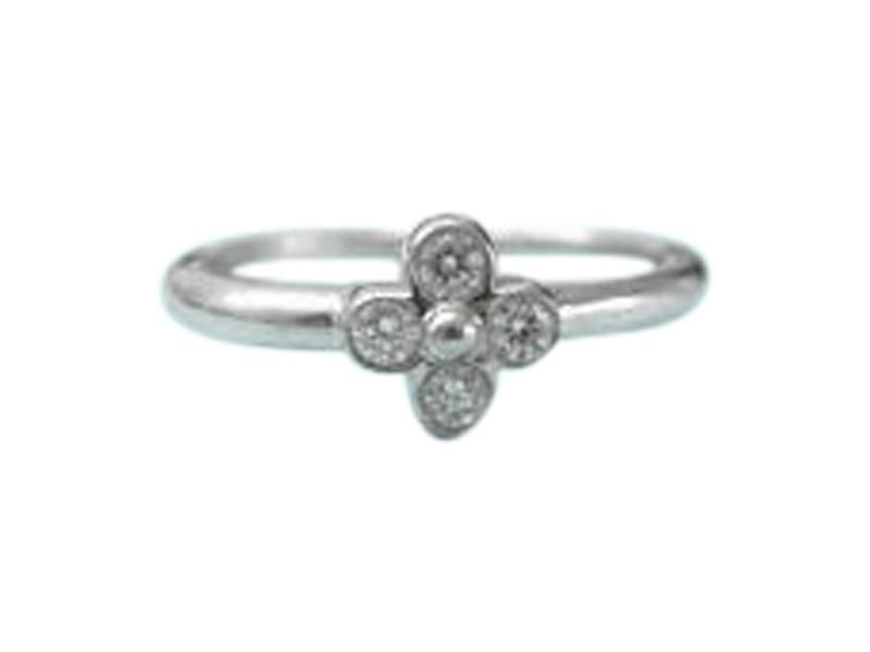 Tiffany & Co. Platinum Diamond Lace Ring