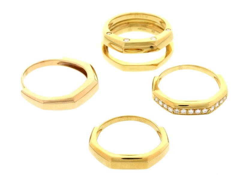 Audemars Piguet 18K Gold and Diamond Interchangeable Ring