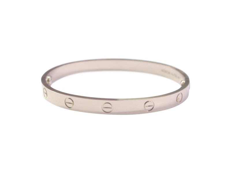 Cartier Love 18K Rose Gold Bracelet Size 16