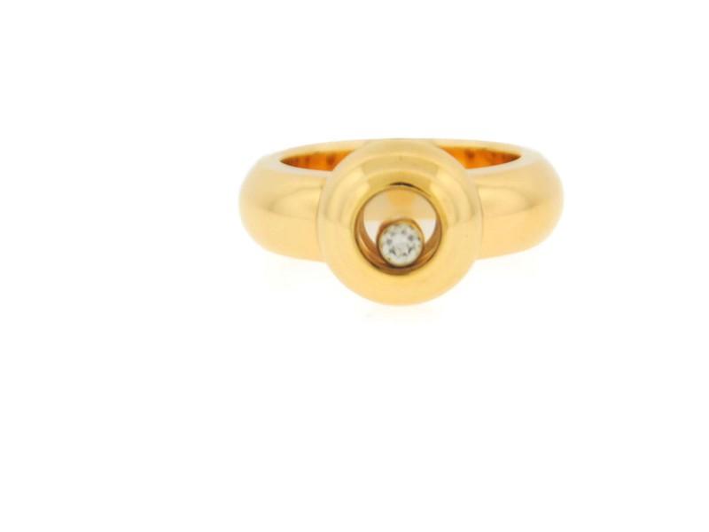 Chopard Happy Sort Diamond 18K Yellow Gold Ring