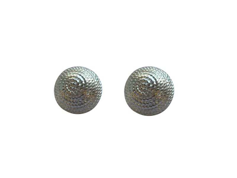 Vintage Givenchy Silvertone Earrings