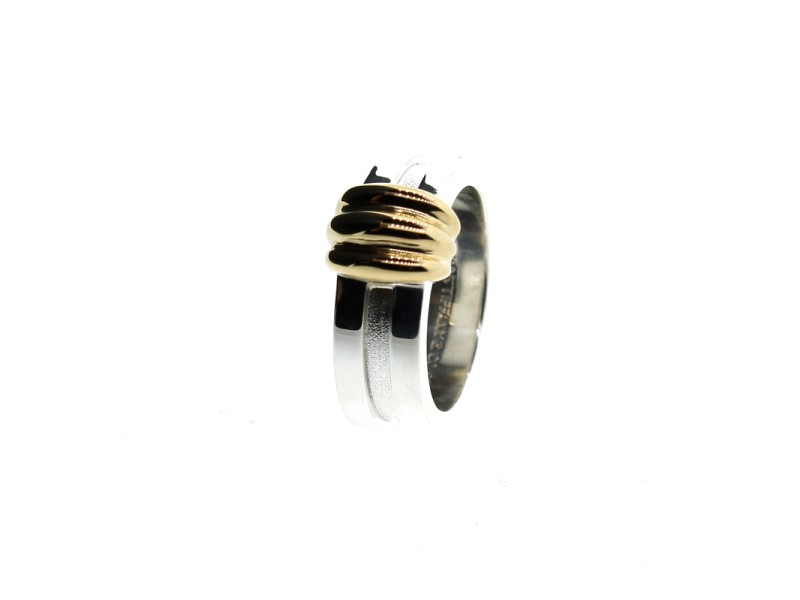 Tiffany & Co. Grooved Band Ring