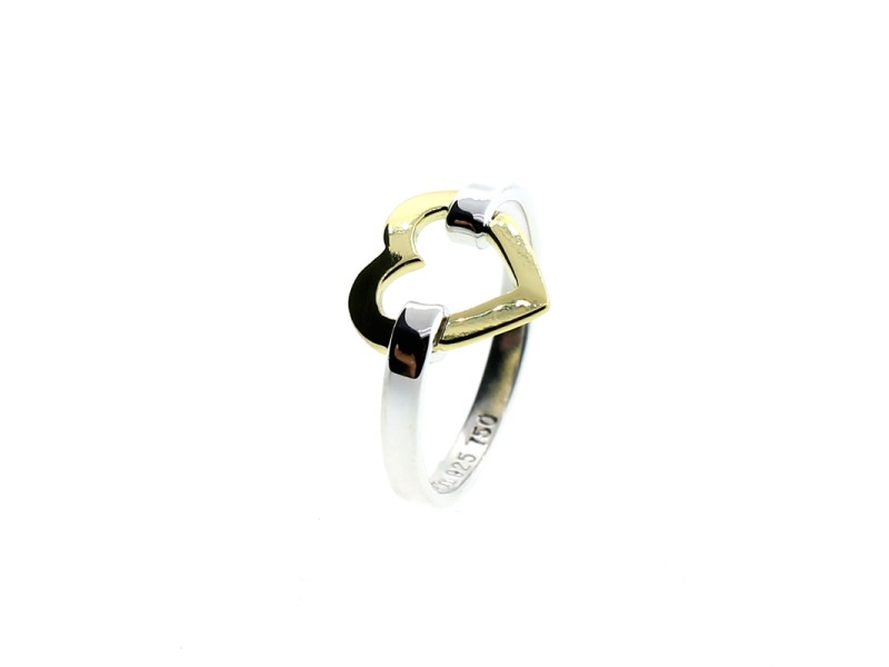 Tiffany & Co. 18k Gold Heart Ring