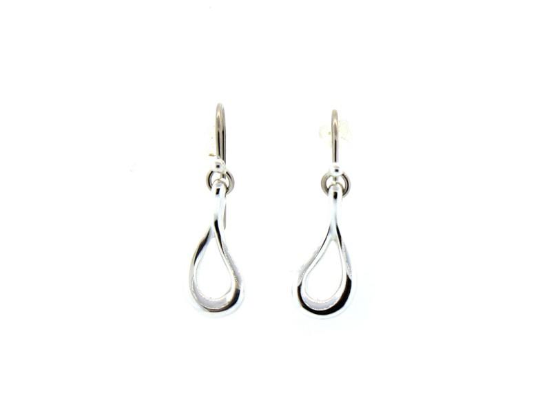 Tiffany & Co. Open Teardrop Earrings