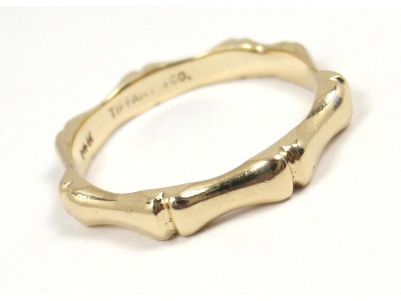 Tiffany Gold Bamboo Ring