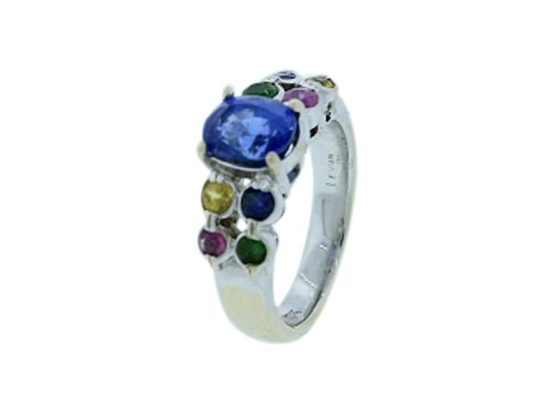 Le Vian 18K White Gold Sapphire Ring