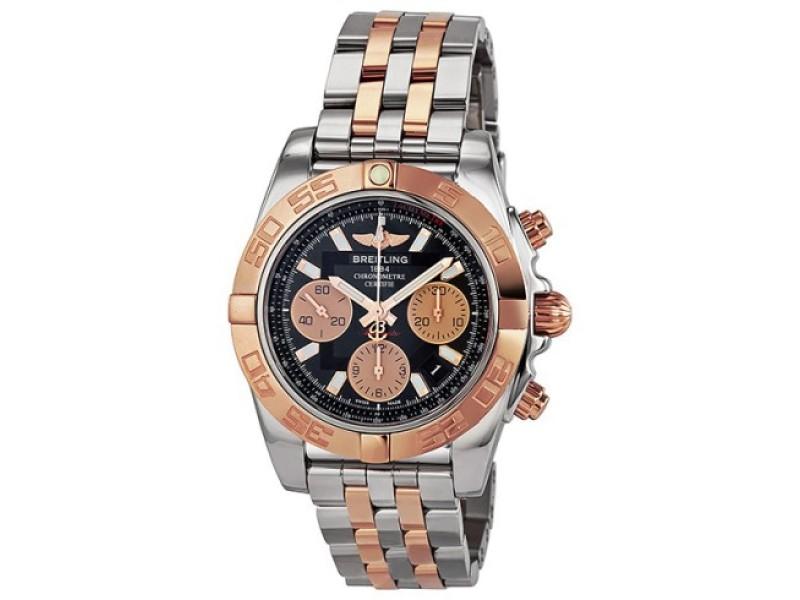 Breitling Chronomat 41 CB0110 Black Dial Watch