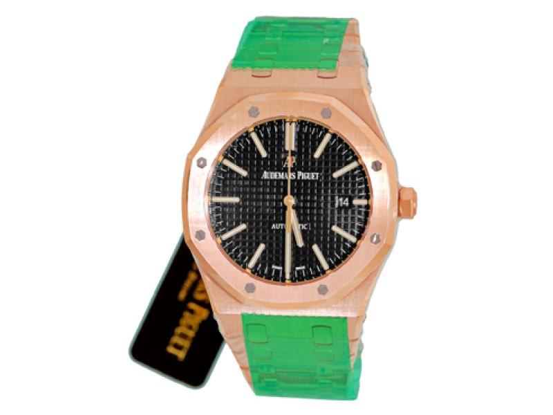 "Audemars Piguet ""Royal Oak"" 18K Rose Gold Automatic Mens Watch"