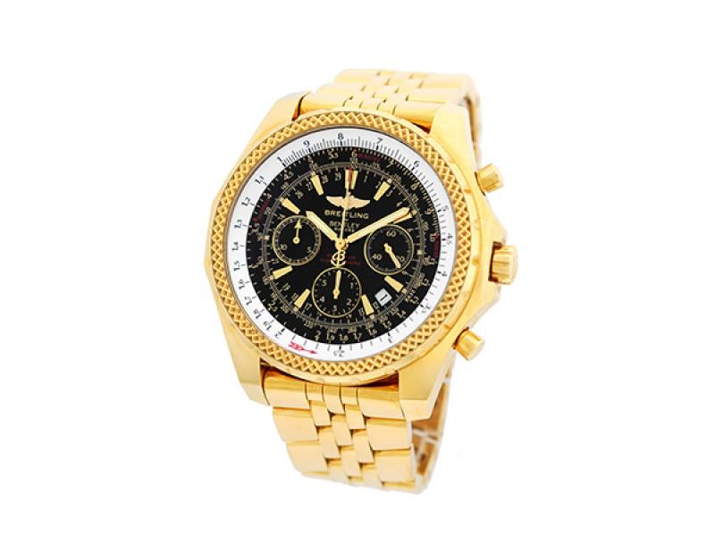 Breitling Bentley Motors Chronograph 18K Yellow Gold 48mm Watch