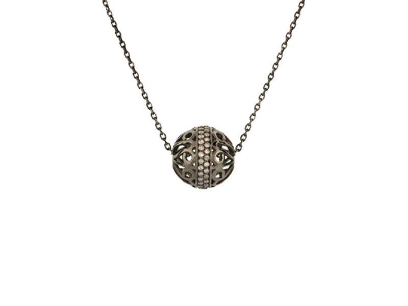 Ruby Kobo 14K Oxidized Gold Necklace