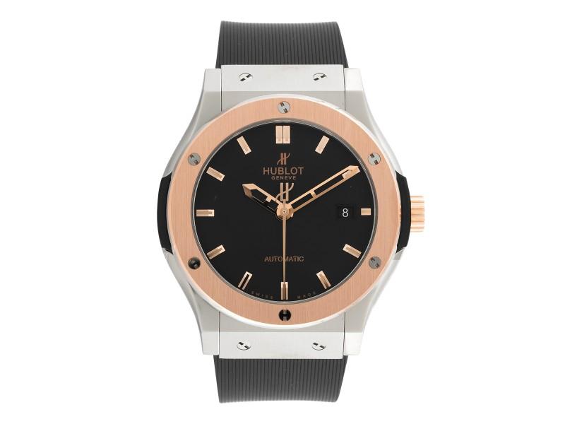 Hublot Classic Fusion 542NO1180RX Zirconium Automatic Black Dial 42mm Mens Watch