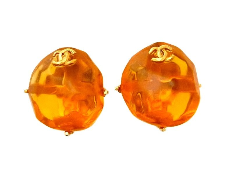 Chanel Plastic Earring