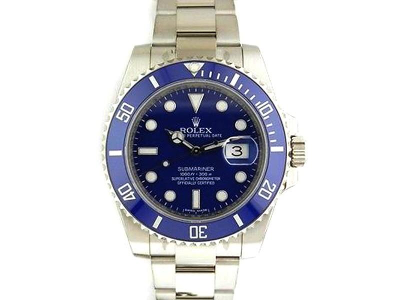 Rolex Submariner 116619 40mm 18K White Gold Watch