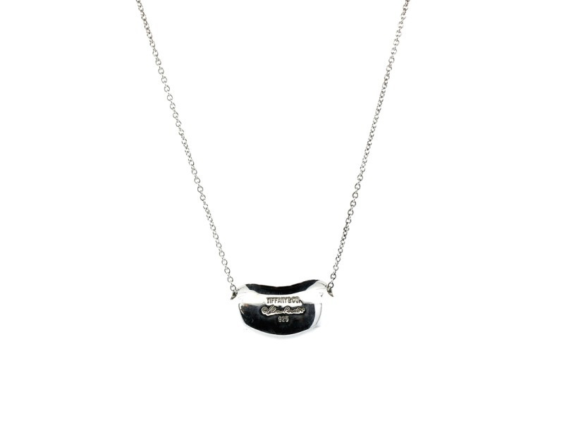 Tiffany & Co. Paloma Picasso Large Bean Pendant Necklace