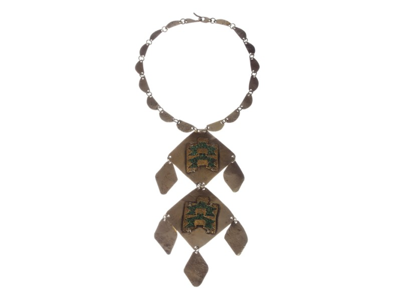 Israeli Arts and Craft Runway Charm Necklace