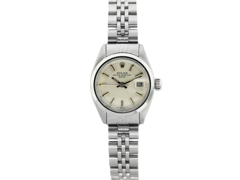 Rolex Date 6916 Stainless Steel Womens Watch