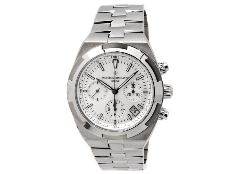 Vacheron Constantin Overseas Chronograph 5500V/110A-B075 Stainless Steel 42.5mm Mens Watch