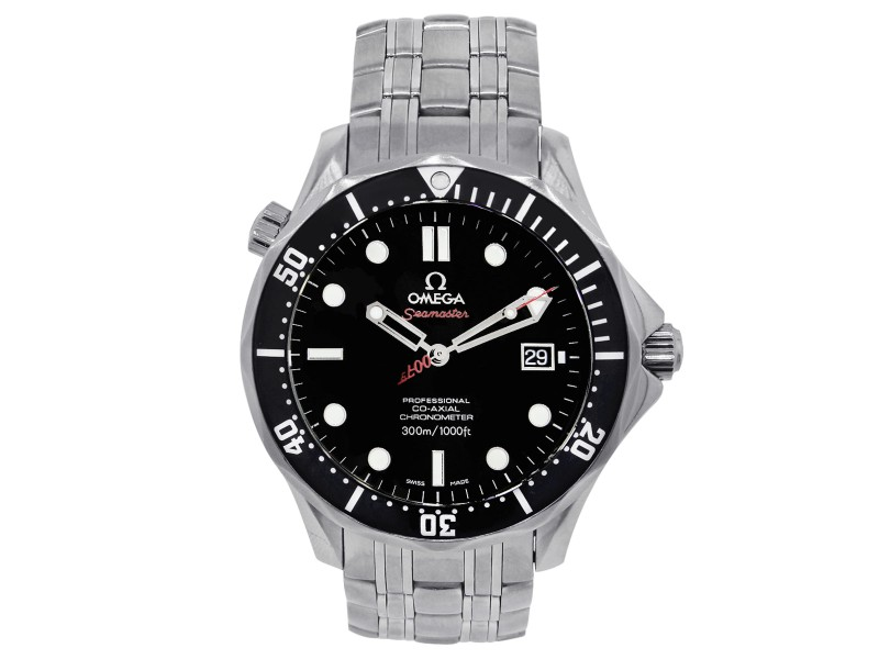 Omega James Bond Seamaster 212.30.41.20.01.001 Stainless Steel Automatic 41mm Mens Watch