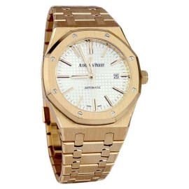 Audemars Piguet Royal Oak 15400OR.OO.1220OR.02 Rose Gold Unisex 41mm Watch