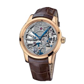 Ulysse Nardin Skeleton Tourbillon Manufacture Rose Gold 44mm Watch