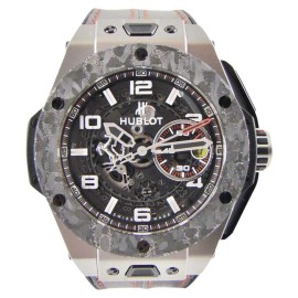 Hublot Ferrari Big Bang UNICO Titanium / Leather 45.5mm Mens Watch