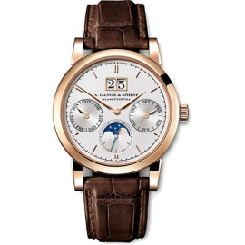 A. Lange and Sohne Saxonia 330.032 Rose Gold 38.5 mm Mens Watch