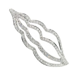 Tiffany & Co. Platinum with 2.00ct Diamond Sea Whelk Shell Pin Brooch