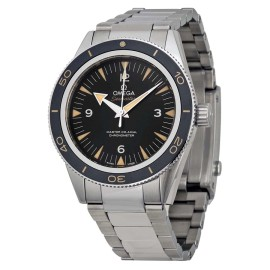 Omega Seamaster 300 Automatic Black Dial Stainless Steel Men's Watch 23330412101001