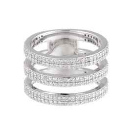 Jordan Scott Design Triple Dia Band Ring Wg Ring