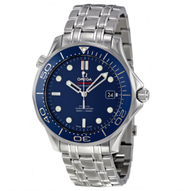 Omega Seamaster Automatic Blue Dial Mens Watch