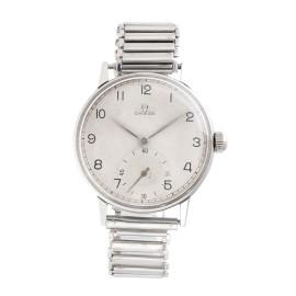 Omega Stainless Steel Manual Wind 34.5mm Mens Vintage Watch