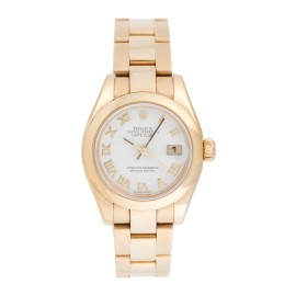Rolex Datejust 179168 18K Yellow Gold Automatic 26mm Womens Watch