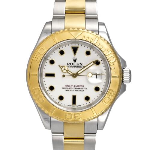 Rolex Yacht-Master 68623 18K Yellow Gold & Stainless Steel Unisex Watch