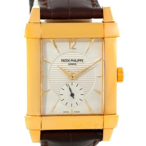 Patek Philippe 5111J Gondolo Mechanical 18K Yellow Gold Watch