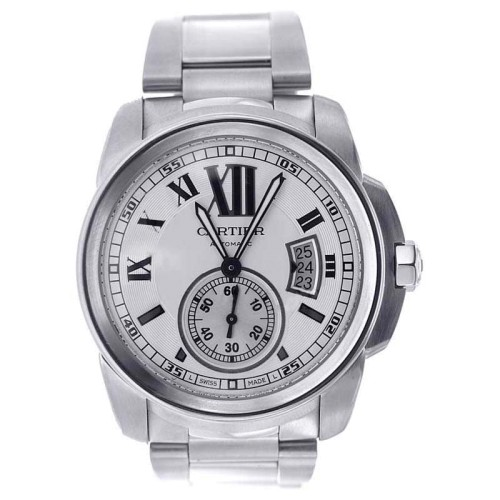 Cartier Calibre W7100015 Stainless Steel 42mm Men's Watch