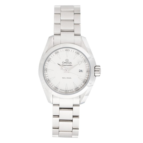 Omega Aqua Terra 23110306002001 Silver Dial 30mm Womens Watch