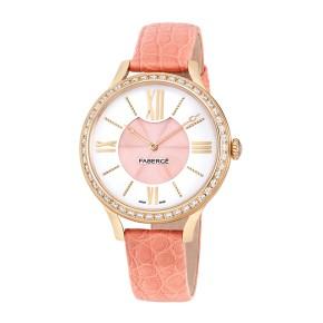 Fabergé Flirt 36mm 18 Karat Rose Gold Watch