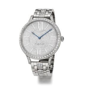 Fabergé Flirt 39mm 18 Karat White Gold Watch