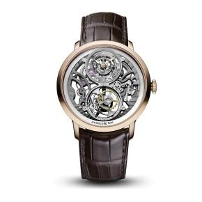 Instrument UTTE Skeleton Rose Gold Watch