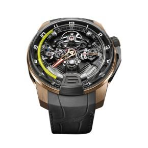 H2 Titanium Black DLC & 18K Rose Gold Watch