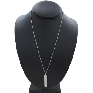 Tiffany & Co. 18K White Gold Lucida Pendant Necklace