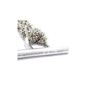 Tiffany & Co. 925 Sterling Silver Multi Strand Heart Choker