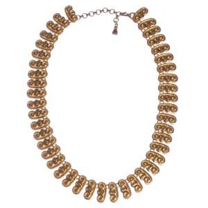 Fendi Greco Roman Etruscan Style Necklace